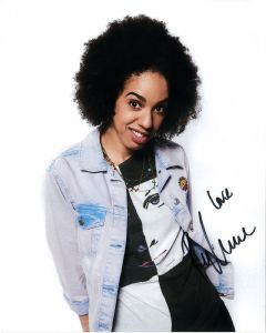 Pearl Mackie - Signed 10 x 8. This is an original autograph not a copy 10285